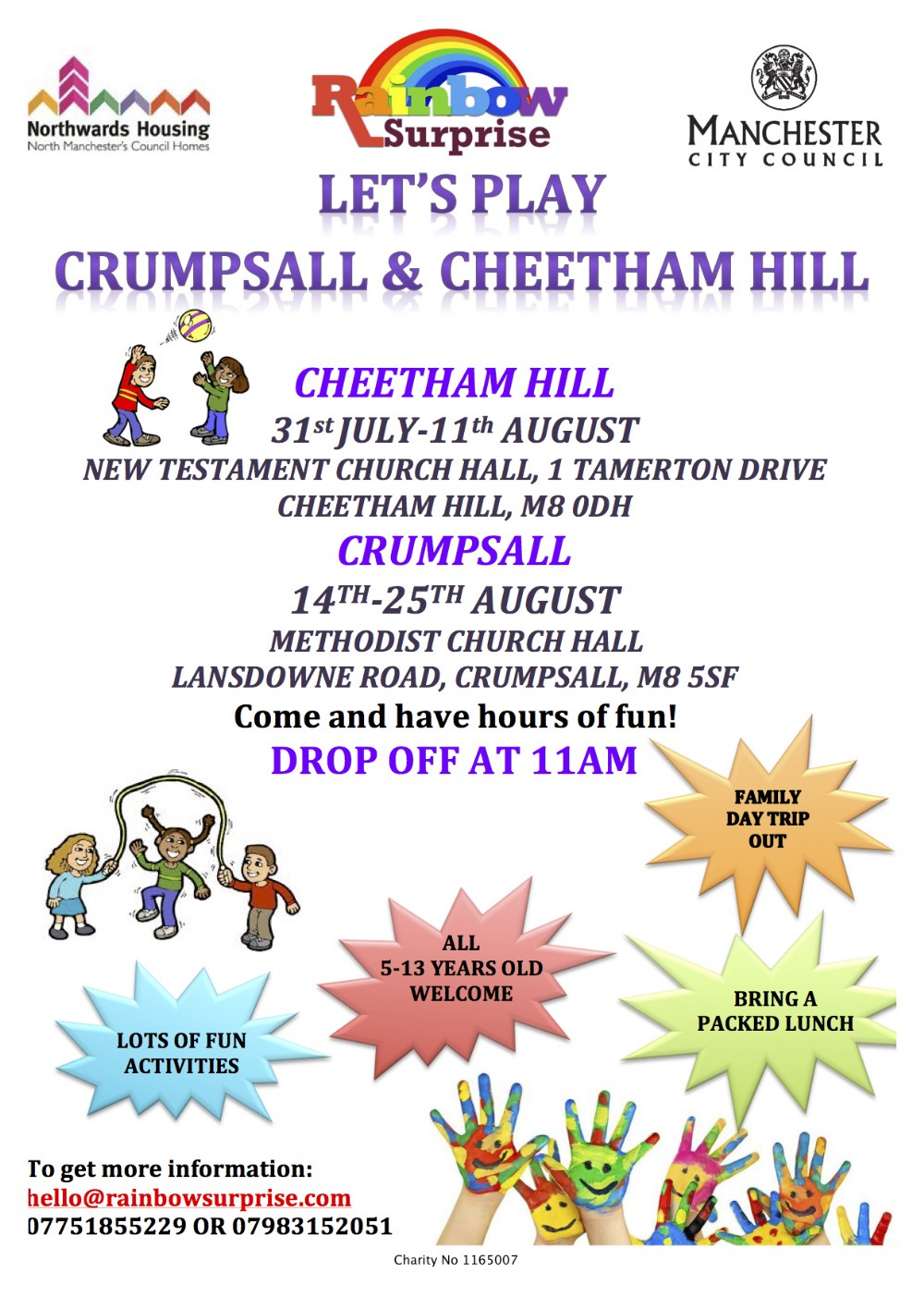 Let's Play Crumpsall & Cheetham Hill
